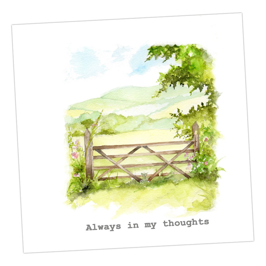 Always In My Thoughts Card
