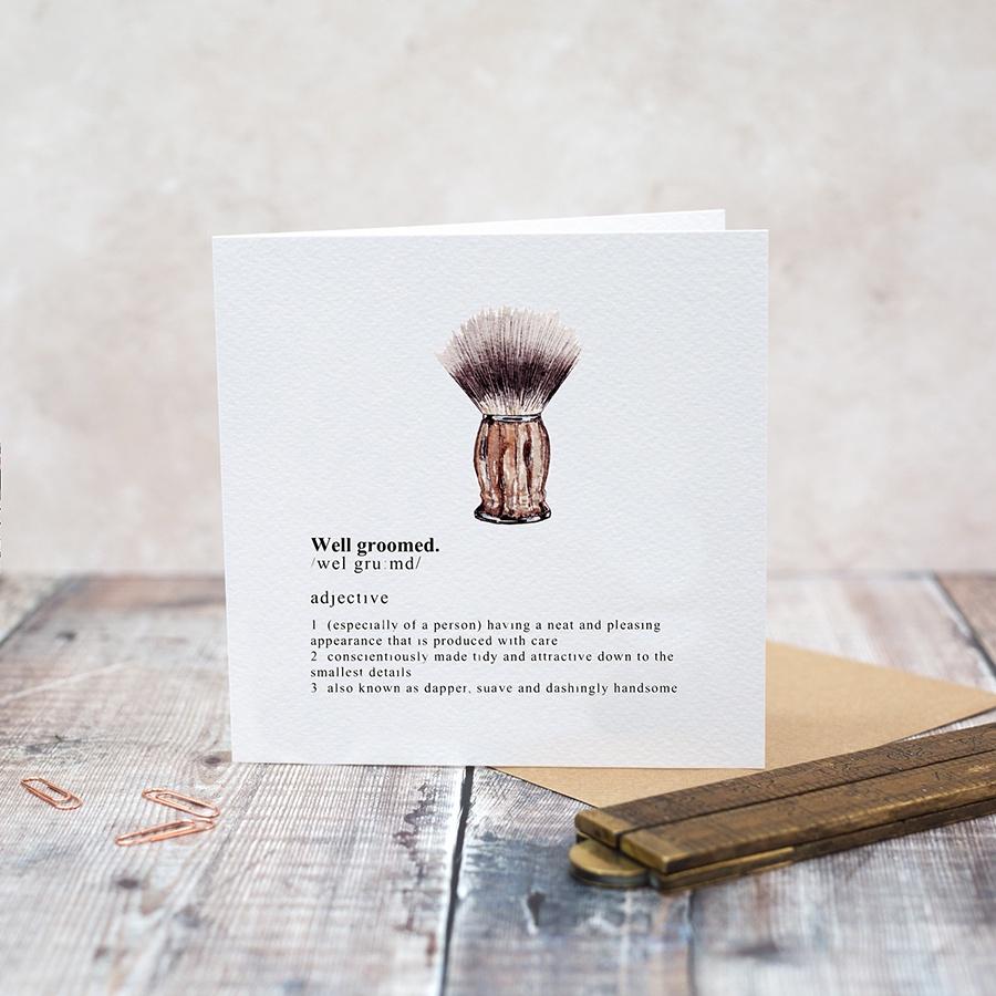 Well Groomed Card