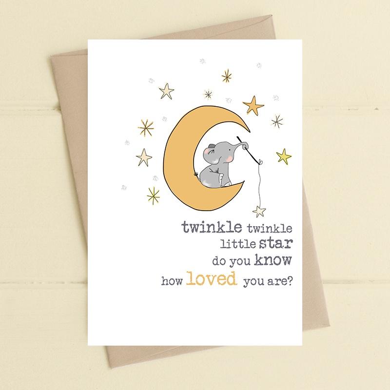 Twinkle Twinkle Little Star - Charity Card