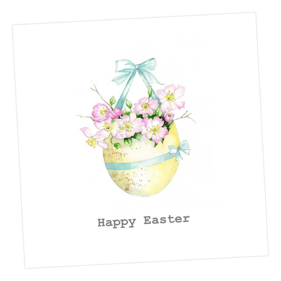 Easter Posy Hanging Basket