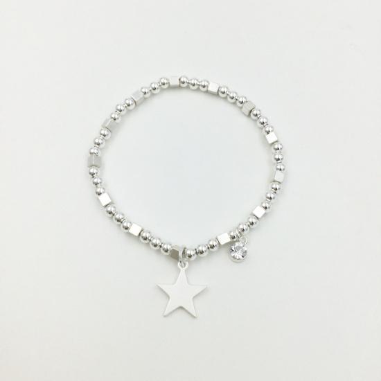 Gem & Star Bracelet
