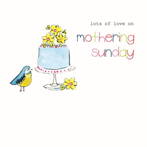 Lots of Love on Mothering Sunday - Felt Collection Card