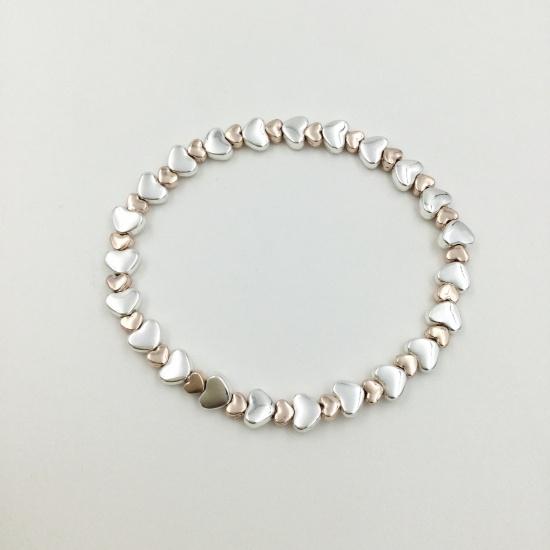 Mini Heart Link Bracelet