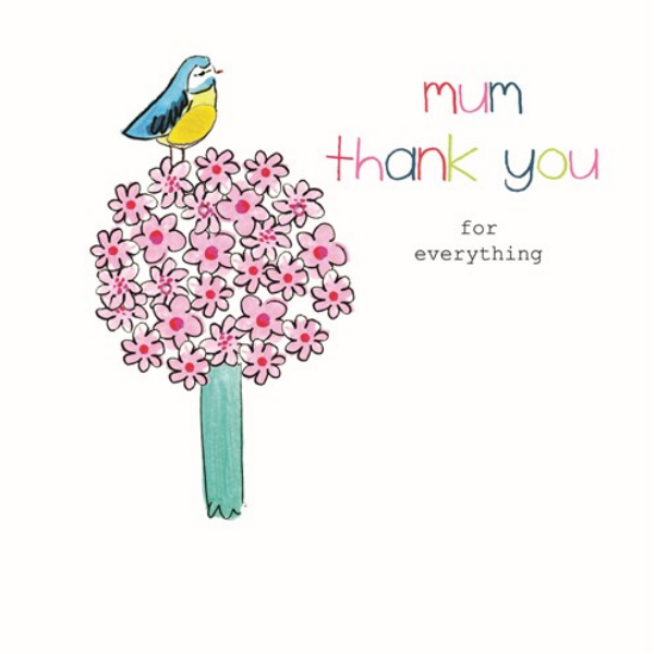 Mum - Thank You For Everything Card