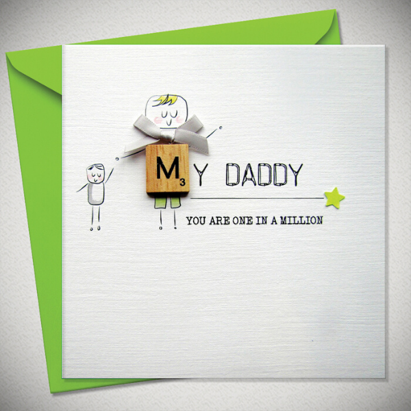 My Daddy - One In A Million Card