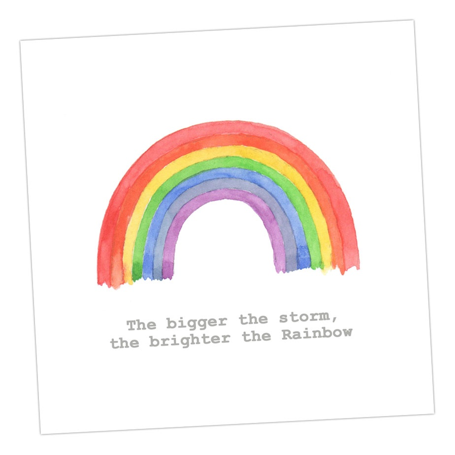The brighter the Rainbow