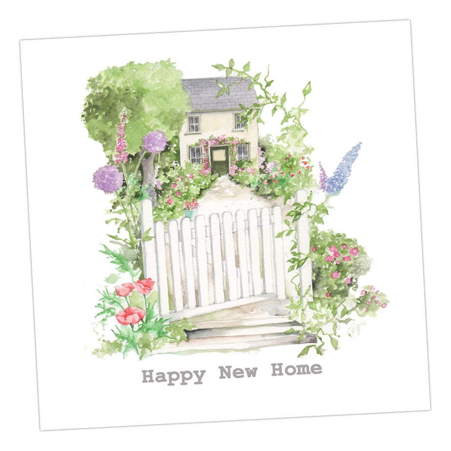 New Home Country Cottage Card