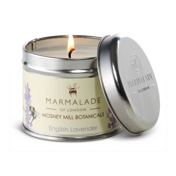 Marmalade x Mosney Mill English Lavender Tin Candle