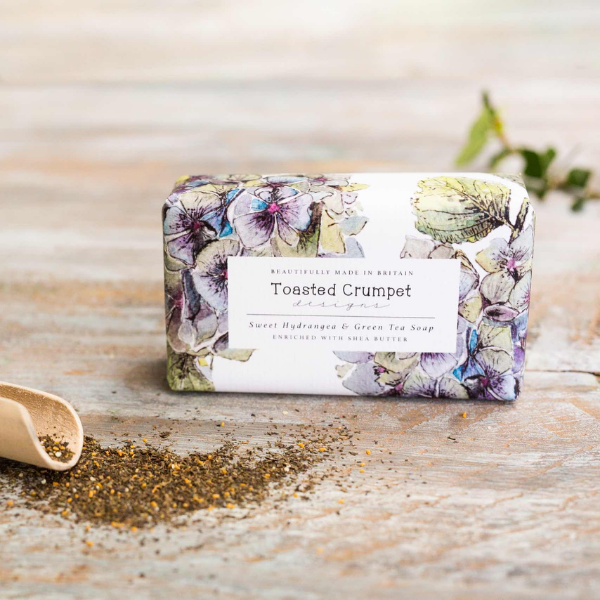 Sweet Hydrangea & Green Tea Soap Bar