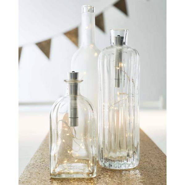 Luxe Gold Bottle Light