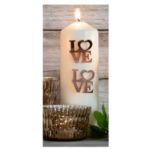 Retreat Love Candle Pins (Set of 2)
