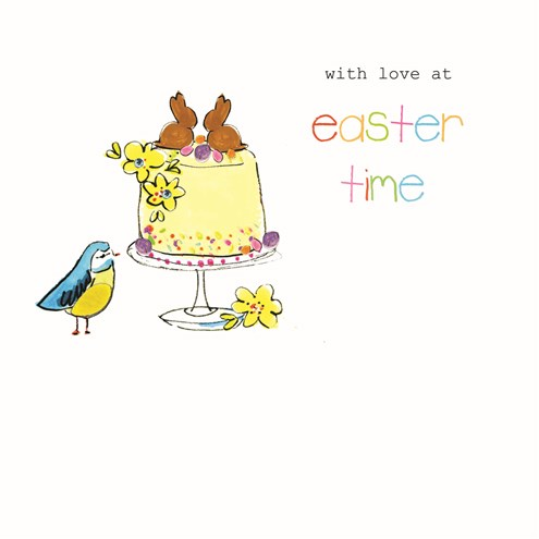 With Love at Easter Time Card